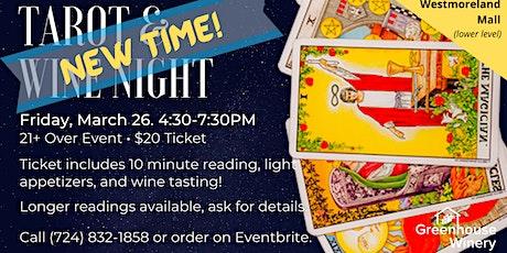 Tarot & Wine Night tickets
