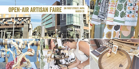 Open-Air Artisan Faire | Makers Market at First Street Napa tickets