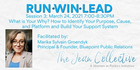 Session 3 - What is Your Why? How to Identify Your Purpose, Cause, Platform tickets