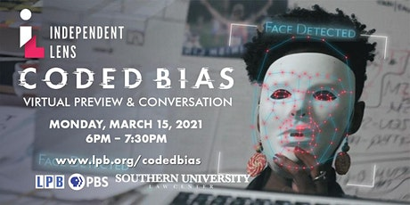 Coded Bias Preview Screening & Conversation tickets