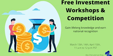 Free Investment Workshops and Stock Market Competition tickets