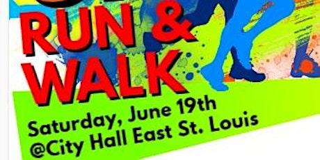 Metro East Saint Louis Community Initiative  5K  Walk/Run tickets