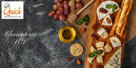 Charcuterie 101-Virtual Class to Build Your Own Beautiful Cheese Board tickets
