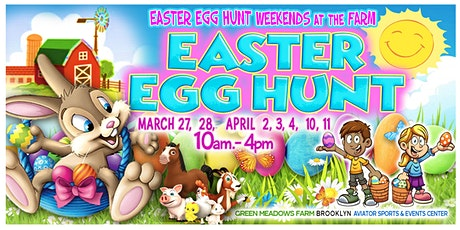 EASTER EGG HUNT: Weekends at the Farm tickets
