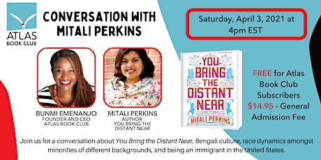Conversation with Author Mitali Perkins tickets