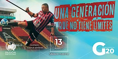 Una generación sin limites, Sábado 5:00p.m  13/03/2021 Pasión por las Almas boletos