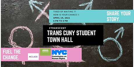 Trans CUNY  Student Town Hall tickets