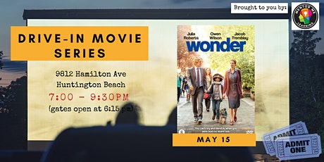 Drive-In Movie Night - Wonder tickets