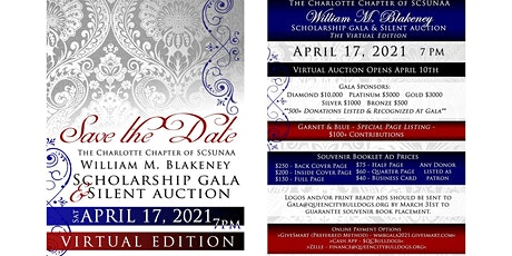 Charlotte Alumni Chapter of SCSU Scholarship Gala & Silent Auction tickets