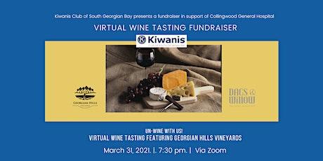 Kiwanis Club of South Georgian Bay Virtual Wine Tasting Fundraiser tickets