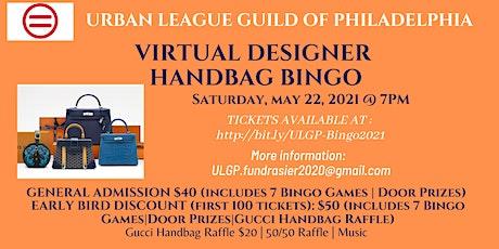 Virtual  Designer Handbag Bingo tickets