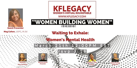 Waiting to Exhale: Women's Mental Health tickets