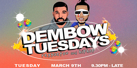 Dembow Tuesdays (Reggaeton & HipHop) Social Distance tickets