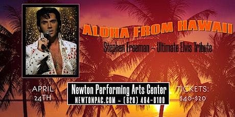 Aloha from Hawaii - Stephen Freeman Elvis Tribute tickets