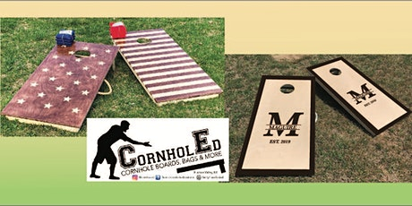 Cornhole Set: Sip and Craft at Magnanini Winery tickets