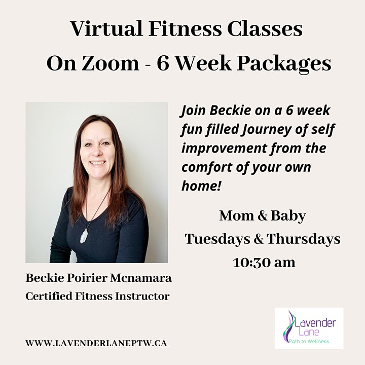 Mom and Baby Fitness Classes - 6 Week Package image