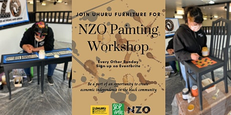 Uhuru Furniture NZO Painting  DIY Artists tickets