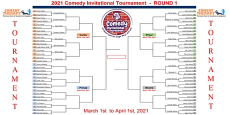 The Comedy Invitational Tournament - Finals - Apr 1st tickets