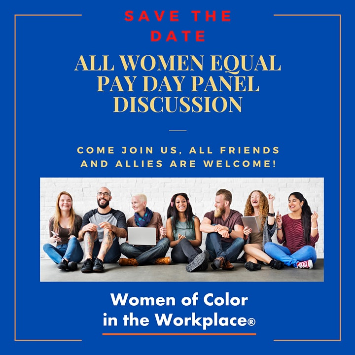 All Women Equal Pay Day Panel Discussion image