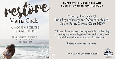 Restore Mama Circle: Rest, Connection and Sharing | Daley's Point, NSW tickets