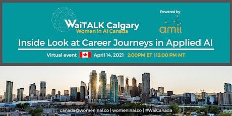 WaiTALK : Inside Look at Career Journeys in Applied AI tickets
