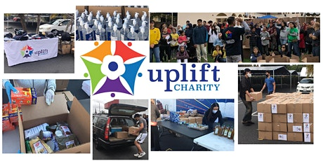 Volunteer: Uplift Charity's Monthly Food Pantry - Saturday, May 8th, 2021 tickets