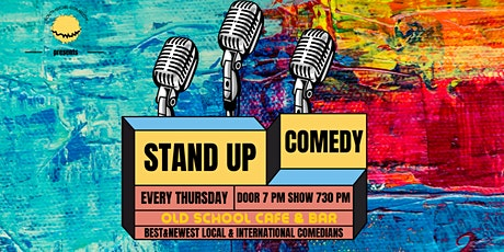 THURSDAY COMEDY AT OLD&SCHOOL BAR tickets