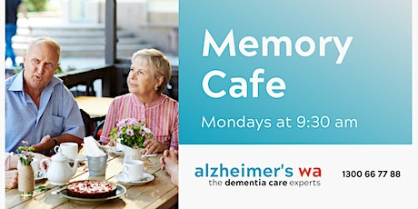 Memory Café with Alzheimer's WA tickets