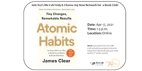 Tea Time: Book Club: Atomic Habits by James Clear tickets