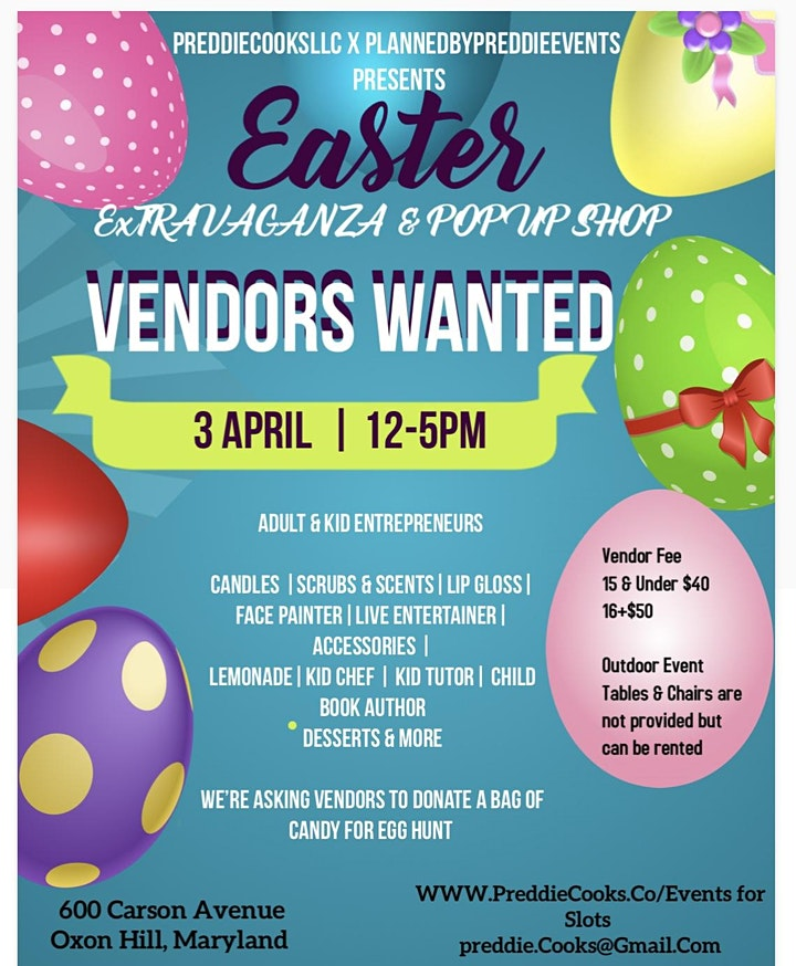 Easter ExTRAVAGANZA & Pop Up Shop image