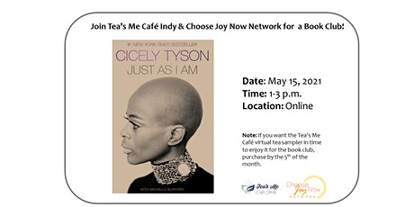 Tea Time: Book Club: Just As I Am by Cicely Tyson tickets