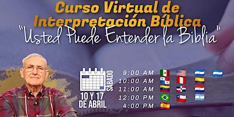 """""""Usted Puede Interpretar la Biblia"""" - Nicaragua tickets"""