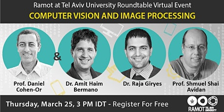 Roundtable Virtual Event Computer Vision and Image Processing tickets
