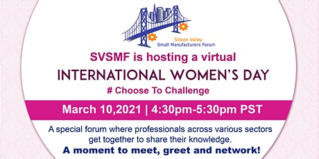 Virtual Meeting: International Women's Day - Celebrate Women's Achievements tickets