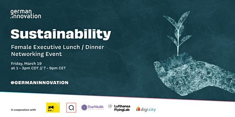Female Executive Lunch   Dinner - Sustainability tickets