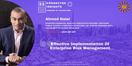 Effective Implementation Of Enterprise Risk Management tickets