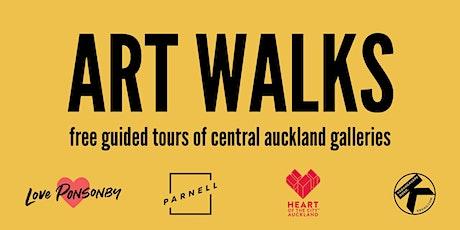 ART WALKS: Auckland City Centre (Megan Shaw, 20 March) tickets