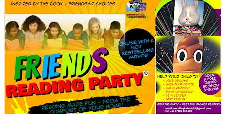 Friends Reading Party - Free Taster Sessions tickets