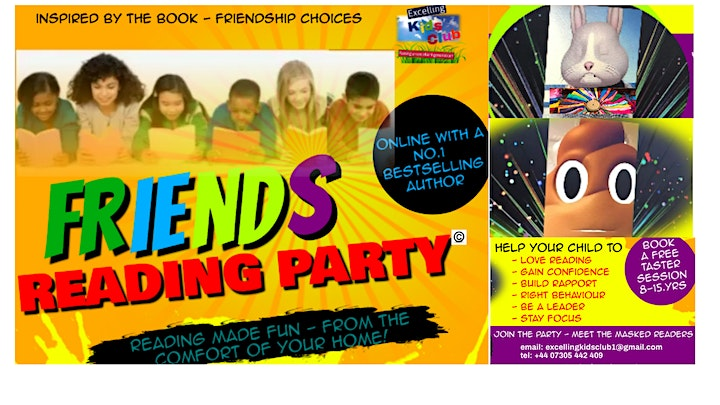 Friends Reading Party - Free Taster Sessions image