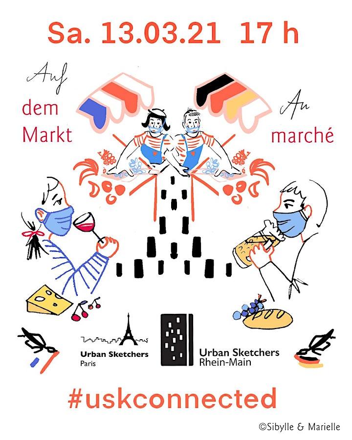 Auf dem Markt mit USk Paris / Sur le marché avec USk Rhein-Main image