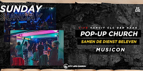 Pop-Up Church Musicon via kerkplein - zo. 14 maart tickets