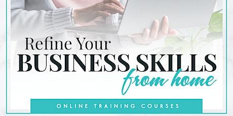 Business Professional Development  Online Course tickets