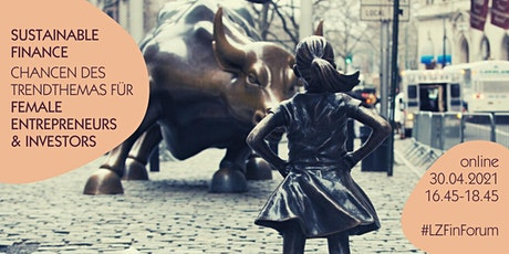 Chancen der SustainableFinance Debatte für Female Entrepreneurs & Investors Tickets