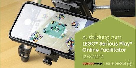 offizielle SERIOUSWORK Ausbildung zum LEGO Serious Play ONLINE Facilitator ingressos