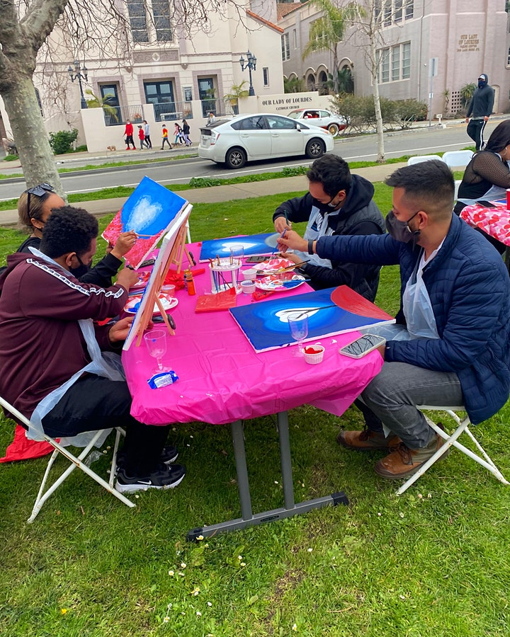 ✨☺️✨ PAINT & SIP PARTY - Lake Merritt - [OUTDOORS EVENT] image