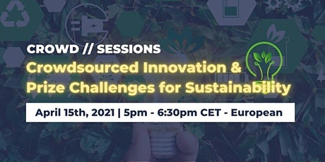 Crowdsourced Innovation & Prize Challenges for Sustainability tickets