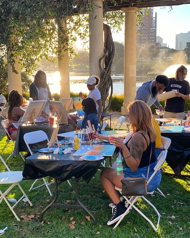 ✨☺️✨ PAINT & SIP PARTY - Lake Merritt - [OUTDOOR EVENT] image