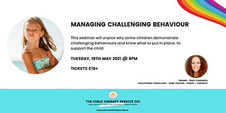 Managing Challenging Behaviour tickets