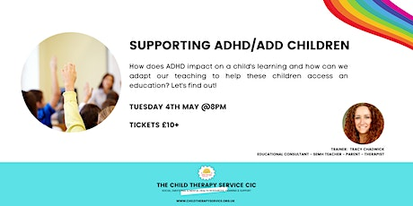 Supporting ADHD Children tickets