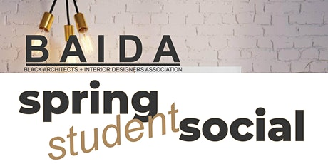 BAIDA Spring Student Social tickets
